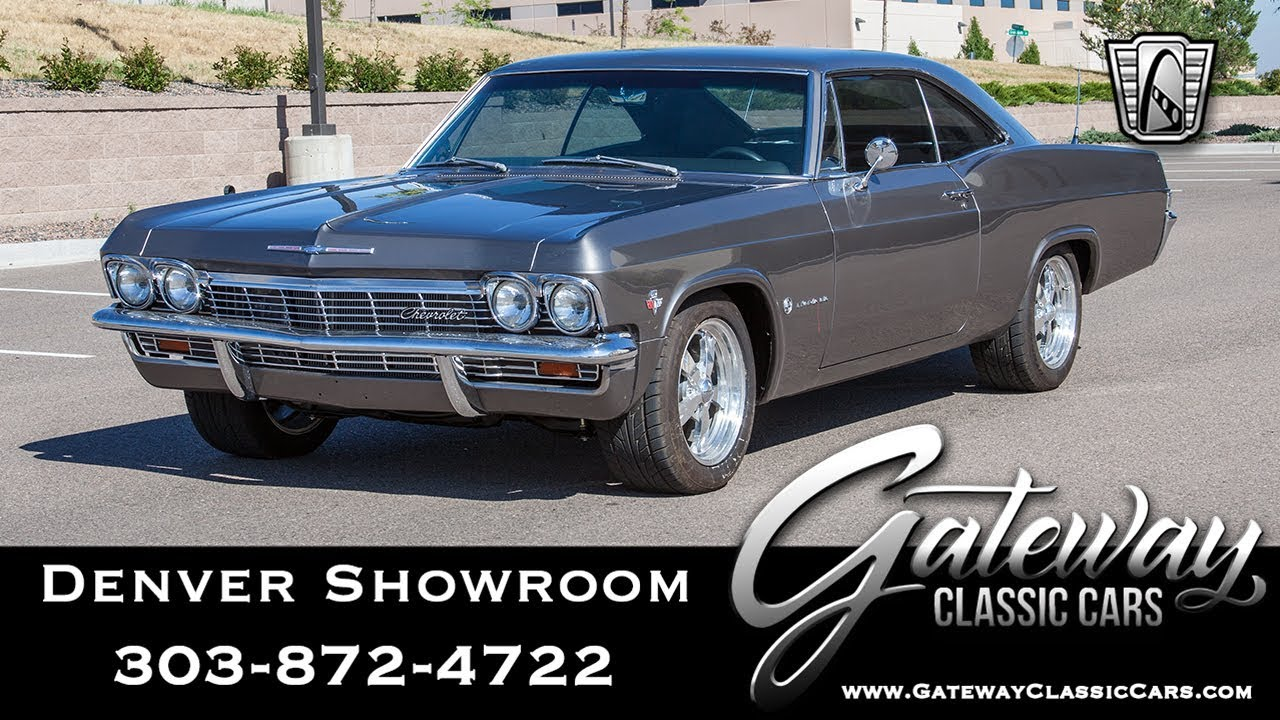 1965 Chevrolet Impala Gateway Classic Cars Denver 630 Youtube