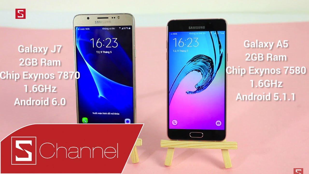Schannel - Speedtest Galaxy J7 2016 vs Galaxy A5 2016: Exynos 7870 vs  Exynos 7580 chip nào mạnh hơn? - YouTube