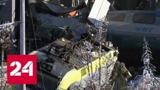 Причиной крушения поезда в Турции стало столкновение с локомотивом - Россия 24