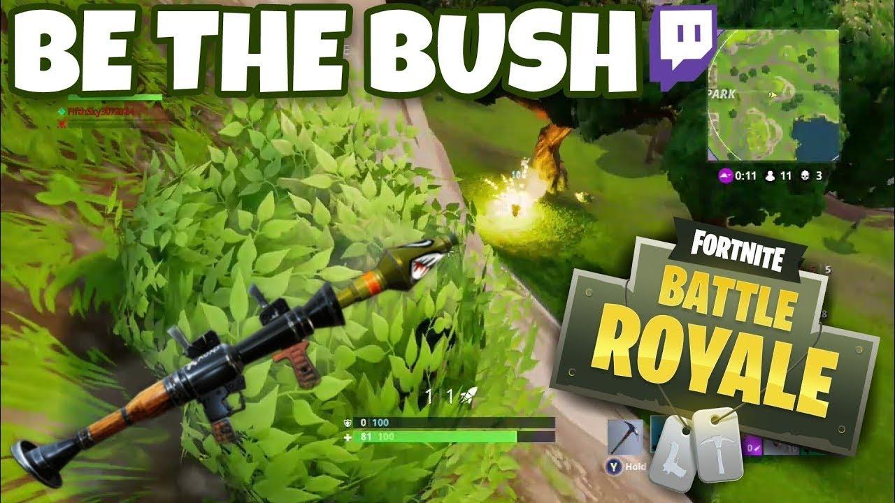 - fortnite bush memes