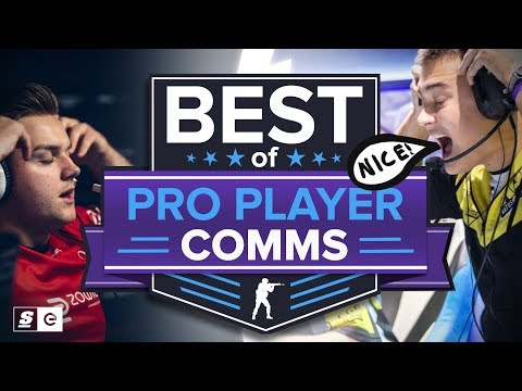 Funny, Savage and Serious Pro Voice Comms: Best of CS:GO Team Chat