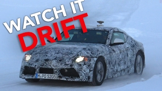 2019 toyota supra spy video