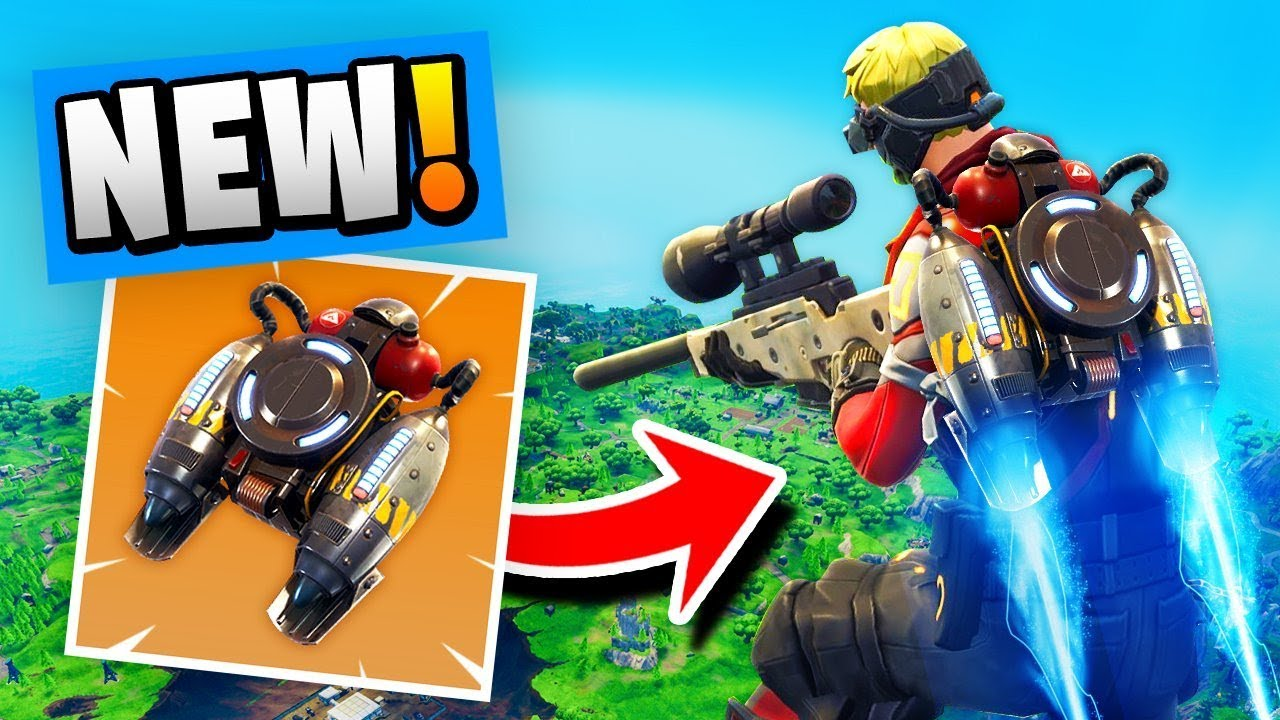*NEW* Legendary JETPACK Gameplay In Fortnite Battle Royale!