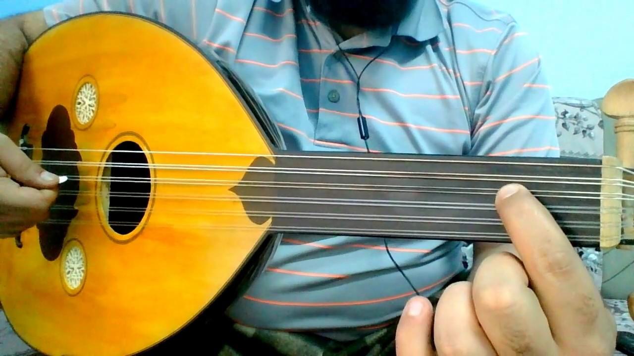 تعلم عزف اسهل اغنية شعبية ليش ضيعت الوفا على العود للمبتدئين بالتفصيل Youtube