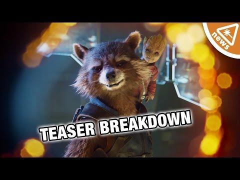 Guardians of the Galaxy Vol 2 Teaser Trailer Breakdown! (Nerdist News w/ Jessica Chobot)