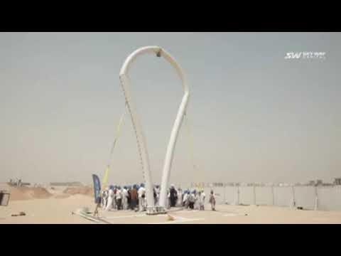 Đại diện 18 nước thăm công trường Skyway tại Dubai
