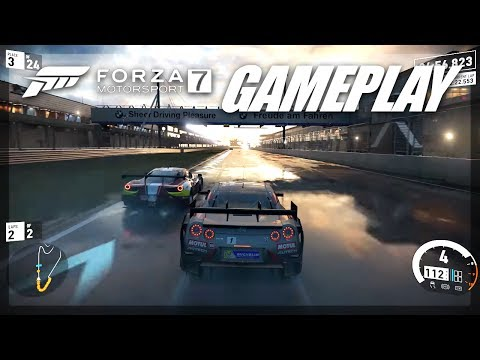 Save FORZA 7 FIRST FULL GAMEPLAY! (Rain, Storms, w/4K in des..) Screenshots