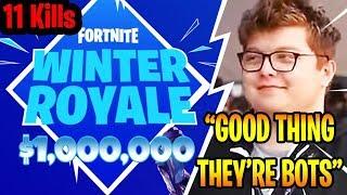 Ghost Aydan DESTROYS in $1,000,000 Fortnite Winter Royale Qualifier! (He gets 11 kills)