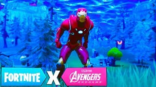 IRONMAN EN FORTNITE X AVENGERS