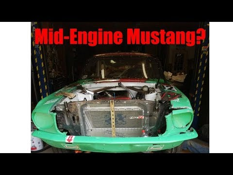 Bonkers Mid-Engined Ford Mustang Racer Has A Honda Odyssey V6 Swap