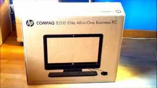 unboxing en espaol hp compaq 8200 elite all in one pc hd