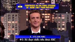[VIETSUB] How I Met Your Mother TOP 10 Surprise