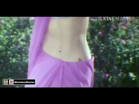 Old actress navel piercing Saree song part 1 thumbnail
