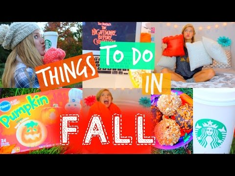 Things To Do In FALL!!