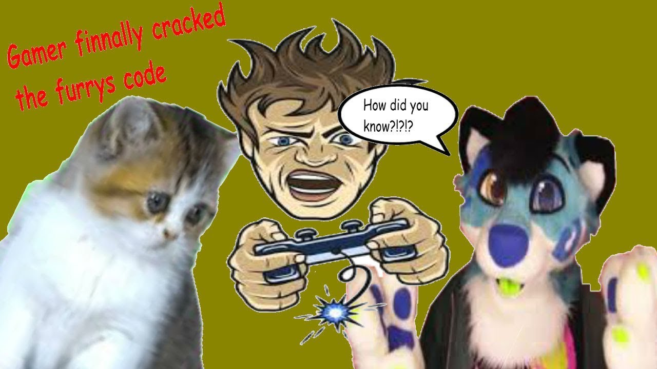 Gamer Boy Cracks The Furry Code (Don't tell)