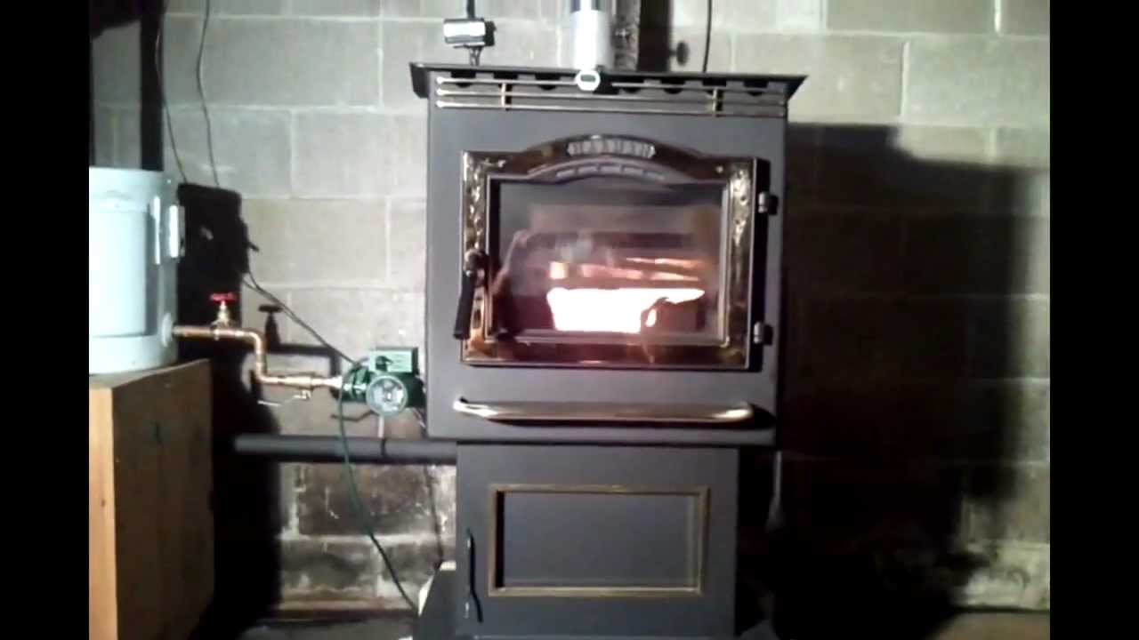 Exceptionnel Convert Your Pellet Stove Or Corn Stove Into A Boiler Using A Crosslink  Conversion Kit.   YouTube