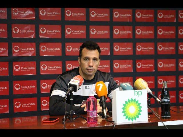 Rueda de Prensa Diego Giustozzi Previa Barça