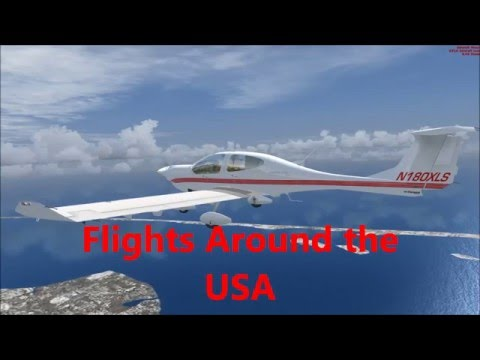 Flights around the USA 01 - New York (KJFK) to Connecticut (KHFD)