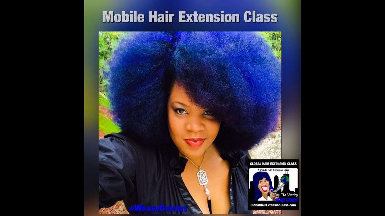 Affordable Mobile Hair Extension Class Wig Making Class Youtube