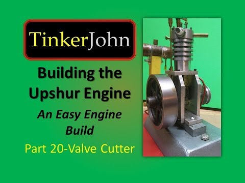 Building the Upshur IC Model Gas Engine – Part 20 (Valve Seat Cutter)