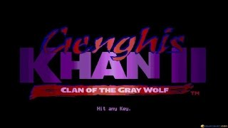 Genghis Khan 2 - Clan of the Grey Wolf gameplay (PC Game, 1992)