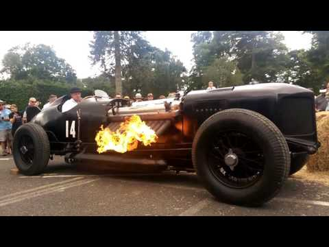 42,000cc 1500hp Supercharged Bentley-Packard V12 Engine FIRE