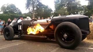 42,000cc 1500hp Supercharged Bentley-Packard V12 Engine Start FIRE-UP!!!