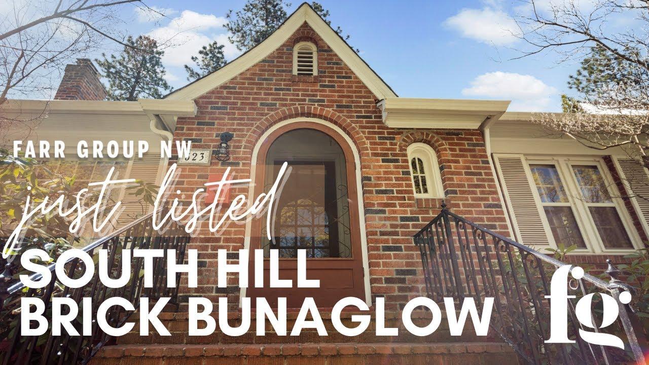 South Hill, Spokane Brick Bungalow For Sale