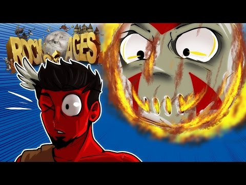ROCK OF AGES - RACE OF THE BOULDERS (Cartoonz is OP!)