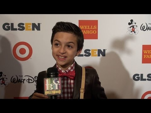 "JJ TOTAH ""Back in the Game""  is fired up!  GLSEN 2013"