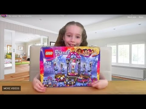 Lego Friends 41105 - Pop Star Show Stage Unboxing and Build