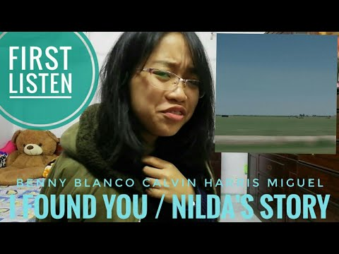 reaction: i found you / Nilda's story (Benny Blanco, Calvin Harris, Miguel)