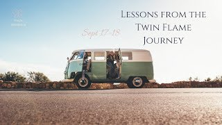 September 17-18: Resisting love....lessons from the Twin Flame Journey