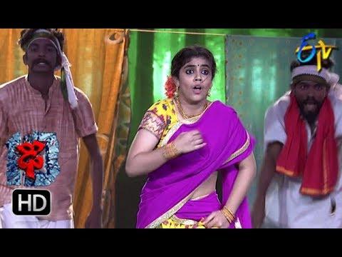 Aqsa Khan Performance | Dhee 10 |  6th June 2018 | ETV Telugu