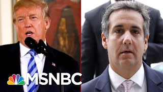 Michael Avenatti: Michael Cohen Has 'Multiple' Recordings Of President Trump | Deadline | MSNBC thumbnail