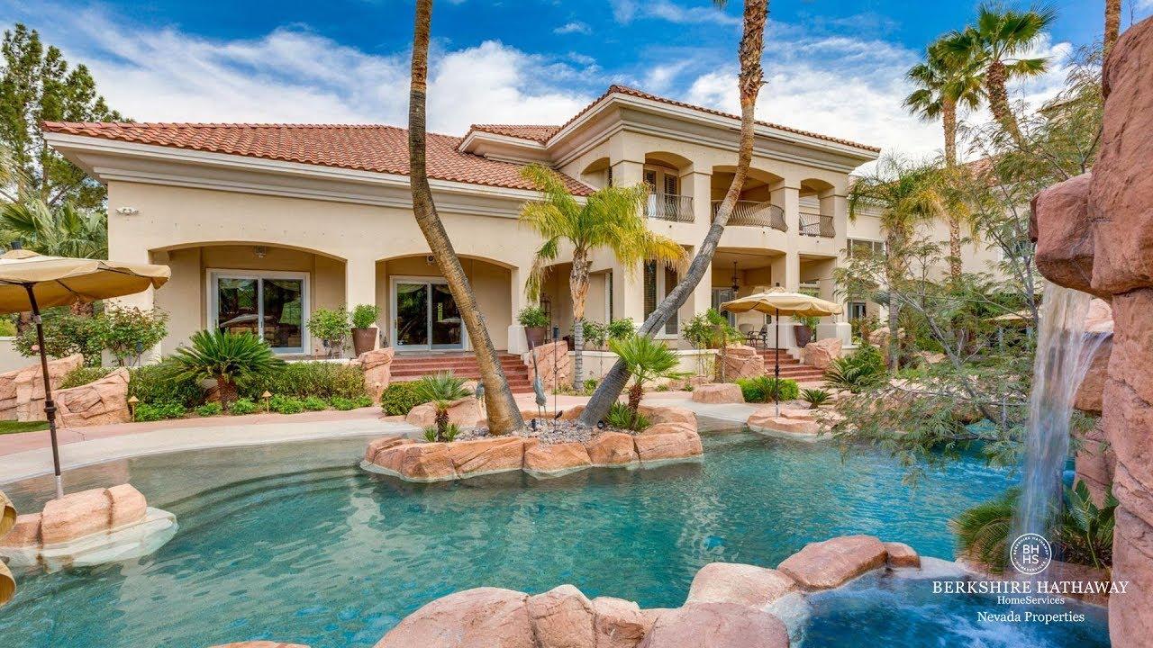 Luxury Home – 2037 Grouse, Eagle Hills Las Vegas - YouTube