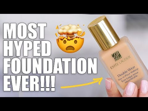 MOST HYPED FOUNDATION EVER!!!
