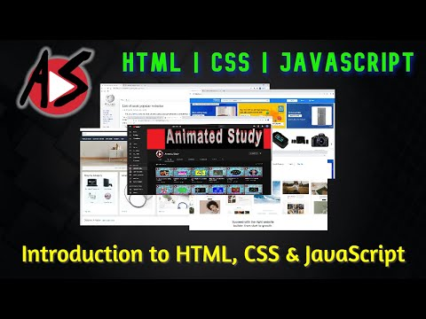 Introduction To HTML, CSS And JavaScript