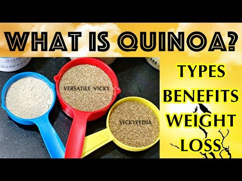 Lose 3 Kgs in a Week | Quinoa for Weight Loss | Quinoa Types & Health Benefits of Quinoa