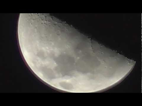 Things moving on the moon? April 29 2012 (HD Version)