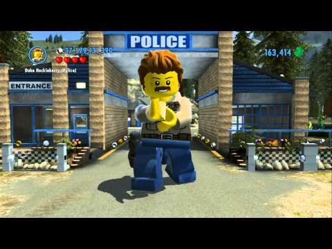 LEGO City Undercover Character Guide (LEGO Super Minifigures) - Police