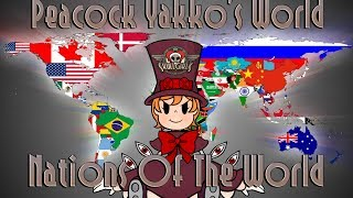 The authentic and legitimate Peacock Voice singing Yakko's world ed...