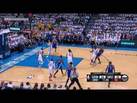 Golden State Warriors vs Oklahoma City Thunder GAME 4 1st HALF HIGHLIGHTS | NBA PLAYOFFS | 5.24.16