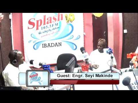 Seun Omoakinola on #TheConversation Guest: Engr. Seyi Makinde