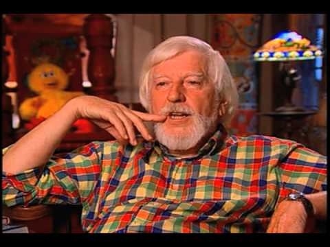 Caroll Spinney on the first version of