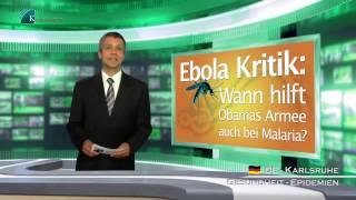 Ebola Kritik:  Wann hilft Obamas Armee auch bei Malaria