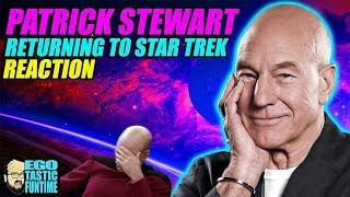Patrick Stewart Returning To Star Trek Reaction - He's Back - The STD Solution?   TALKING TREK