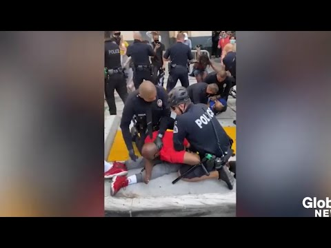 lapd-violently-arrest-protester-in-a-wheelchair-in-los-angeles