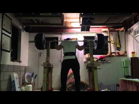 Paused Squat 140kg X 6