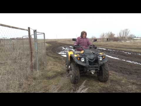 Бабушка из Бикбулова раскрыла секрет любви к квадроциклу (на татарском языке)